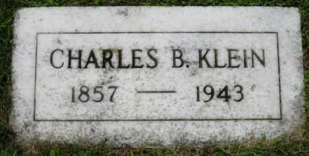 KLEIN, CHARLES B. - Stark County, Ohio | CHARLES B. KLEIN - Ohio Gravestone Photos