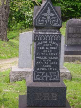 KLICK, JACOB - Stark County, Ohio | JACOB KLICK - Ohio Gravestone Photos