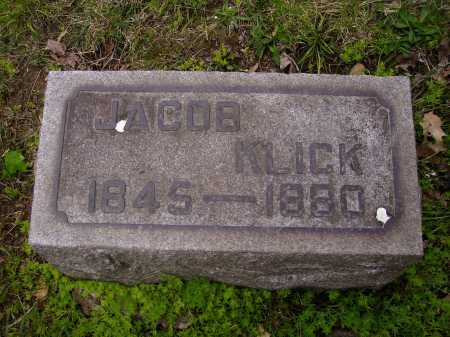 KLICK, JACOB - Stark County, Ohio | JACOB KLICK - Ohio Gravestone Photos