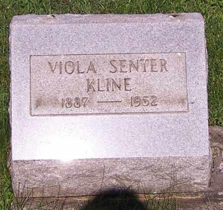 OBERLIN KLINE, VIOLA SENTER - Stark County, Ohio | VIOLA SENTER OBERLIN KLINE - Ohio Gravestone Photos