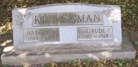 KLINGAMAN, HARVEY A. - Stark County, Ohio | HARVEY A. KLINGAMAN - Ohio Gravestone Photos