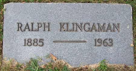 KLINGAMAN, RALPH - Stark County, Ohio | RALPH KLINGAMAN - Ohio Gravestone Photos