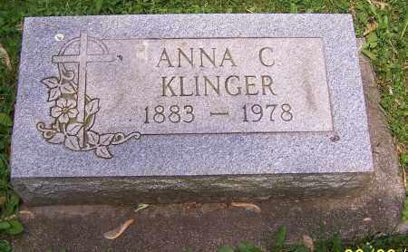 KLINGER, ANNA C. - Stark County, Ohio | ANNA C. KLINGER - Ohio Gravestone Photos