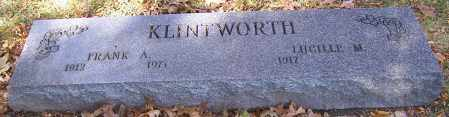KLINTWORTH, LUCILLE M. - Stark County, Ohio | LUCILLE M. KLINTWORTH - Ohio Gravestone Photos