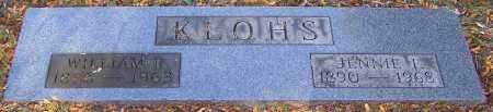 KLOHS, WILLIAM R. - Stark County, Ohio | WILLIAM R. KLOHS - Ohio Gravestone Photos