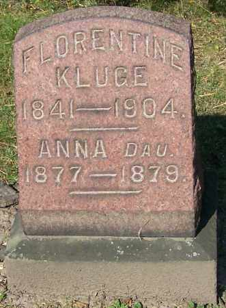 KLUGE, FLORENTINE - Stark County, Ohio | FLORENTINE KLUGE - Ohio Gravestone Photos