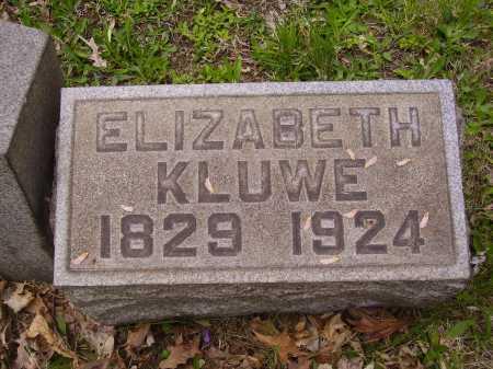 KLUWE, ELIZABETH - Stark County, Ohio | ELIZABETH KLUWE - Ohio Gravestone Photos