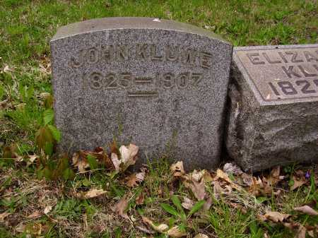 KLUWE, JOHN - Stark County, Ohio | JOHN KLUWE - Ohio Gravestone Photos