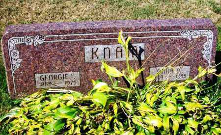 KNAM, GEORGIE F. - Stark County, Ohio | GEORGIE F. KNAM - Ohio Gravestone Photos