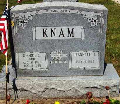 KNAM, GEORGE C. - Stark County, Ohio | GEORGE C. KNAM - Ohio Gravestone Photos