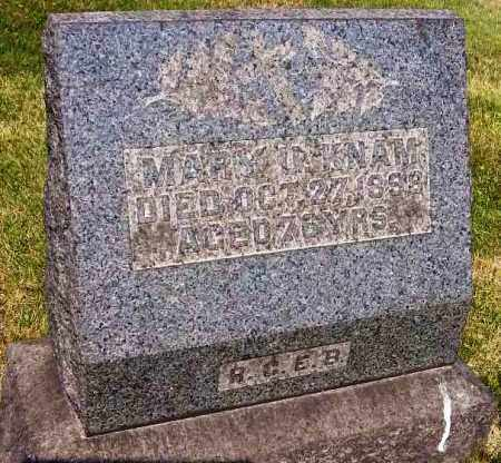KNAM, MARY U. - Stark County, Ohio | MARY U. KNAM - Ohio Gravestone Photos