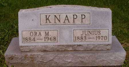 KNAPP, JUNIUS - Stark County, Ohio | JUNIUS KNAPP - Ohio Gravestone Photos