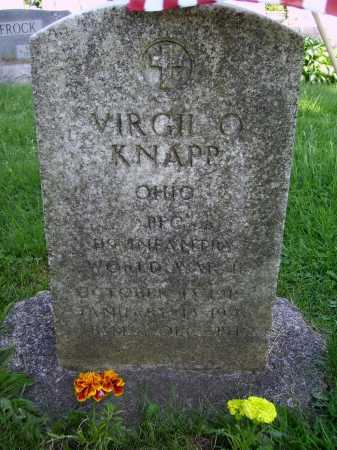 KNAPP, VIRGIL OREN - Stark County, Ohio | VIRGIL OREN KNAPP - Ohio Gravestone Photos
