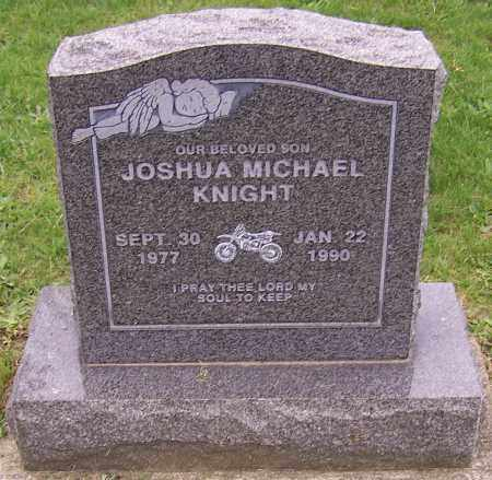 KNIGHT, JOSHUA MICHAEL - Stark County, Ohio | JOSHUA MICHAEL KNIGHT - Ohio Gravestone Photos