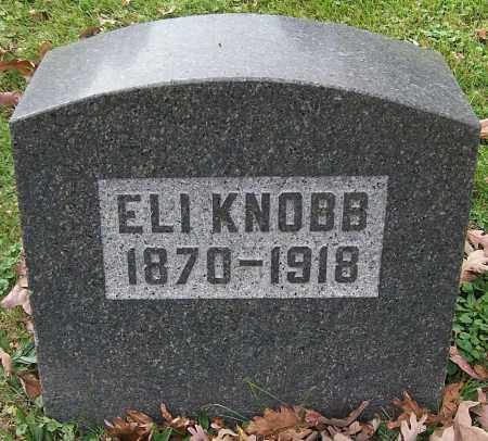 KNOBB, ELI - Stark County, Ohio | ELI KNOBB - Ohio Gravestone Photos