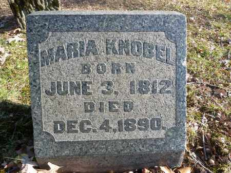 KNOBEL, MARIA - Stark County, Ohio | MARIA KNOBEL - Ohio Gravestone Photos