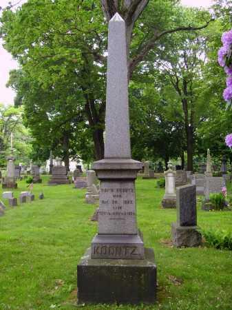KNOOTZ, MONUMENT - Stark County, Ohio   MONUMENT KNOOTZ - Ohio Gravestone Photos