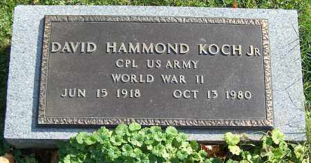 KOCH, DAVID HAMMOND (JR) - Stark County, Ohio | DAVID HAMMOND (JR) KOCH - Ohio Gravestone Photos