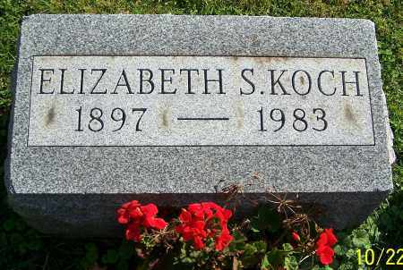 KOCH, ELIZABETH S. - Stark County, Ohio | ELIZABETH S. KOCH - Ohio Gravestone Photos