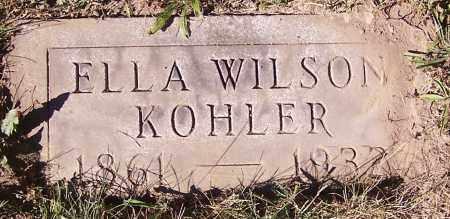 KOHLER, ELLA WILSON - Stark County, Ohio | ELLA WILSON KOHLER - Ohio Gravestone Photos