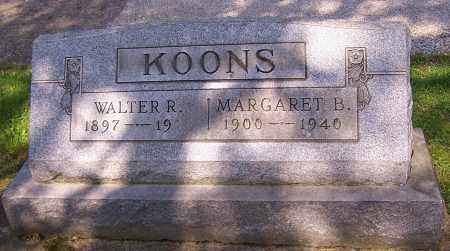 KOONS, MARGARET B. - Stark County, Ohio | MARGARET B. KOONS - Ohio Gravestone Photos