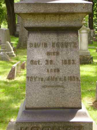 KOONTZ, DAVID - Stark County, Ohio | DAVID KOONTZ - Ohio Gravestone Photos