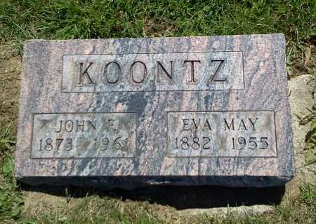 KOONTZ, EVA MAY - Stark County, Ohio | EVA MAY KOONTZ - Ohio Gravestone Photos
