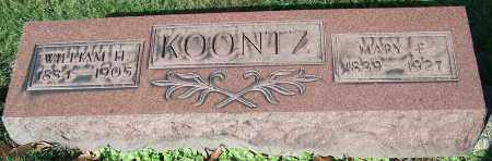 KOONTZ, MARY E. - Stark County, Ohio | MARY E. KOONTZ - Ohio Gravestone Photos