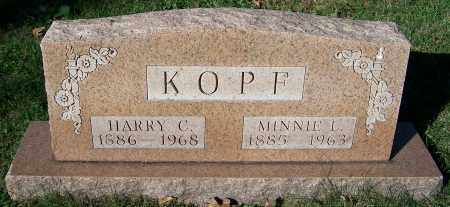 KOPF, HARRY C. - Stark County, Ohio | HARRY C. KOPF - Ohio Gravestone Photos