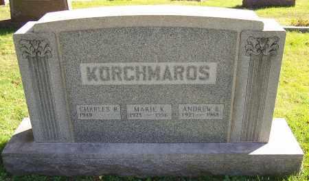 KORCHMAROS, ANDREW E. - Stark County, Ohio | ANDREW E. KORCHMAROS - Ohio Gravestone Photos