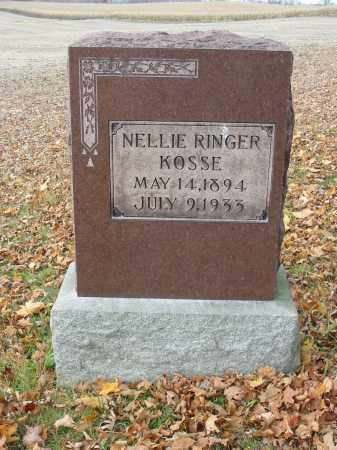 RINGER KOSSE, NELLIE - Stark County, Ohio | NELLIE RINGER KOSSE - Ohio Gravestone Photos