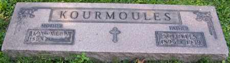 KOURMOULES, SOFOKLES - Stark County, Ohio | SOFOKLES KOURMOULES - Ohio Gravestone Photos
