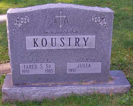 KOUSIRY, JULIA - Stark County, Ohio | JULIA KOUSIRY - Ohio Gravestone Photos