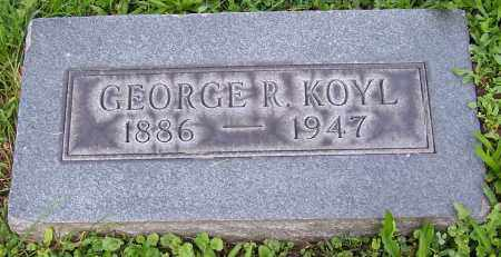 KOYL, GEORGE R. - Stark County, Ohio | GEORGE R. KOYL - Ohio Gravestone Photos