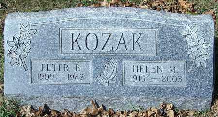 KOZAK, PETER P. - Stark County, Ohio | PETER P. KOZAK - Ohio Gravestone Photos