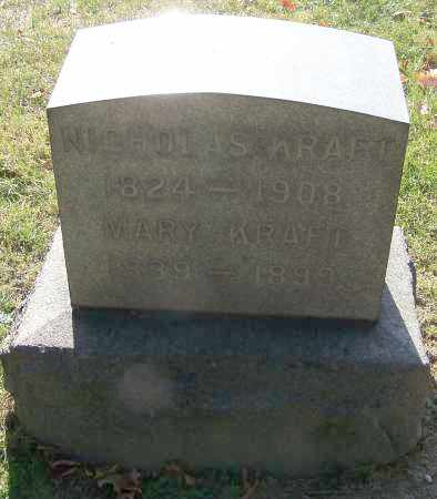 KRAFT, MARY - Stark County, Ohio | MARY KRAFT - Ohio Gravestone Photos