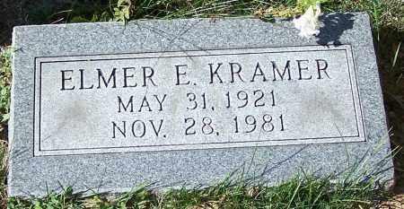 KRAMER, ELMER E. - Stark County, Ohio | ELMER E. KRAMER - Ohio Gravestone Photos