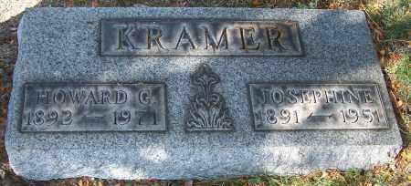 KRAMER, HOWARD G. - Stark County, Ohio | HOWARD G. KRAMER - Ohio Gravestone Photos