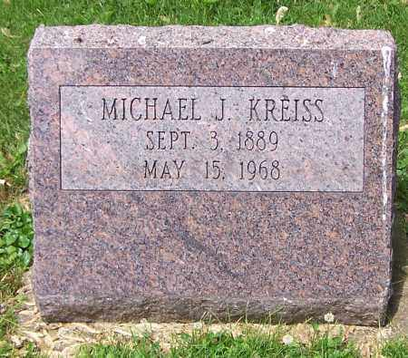 KREISS, MICHAEL J. - Stark County, Ohio | MICHAEL J. KREISS - Ohio Gravestone Photos