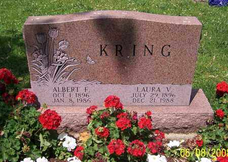 KRING, LAURA V. - Stark County, Ohio | LAURA V. KRING - Ohio Gravestone Photos