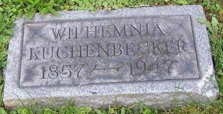 KUCHENBECKER, WILHEMNIA - Stark County, Ohio | WILHEMNIA KUCHENBECKER - Ohio Gravestone Photos