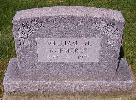 KUEMERLE, WILLIAM H. - Stark County, Ohio | WILLIAM H. KUEMERLE - Ohio Gravestone Photos