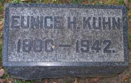 KUHN, EUNICE H. - Stark County, Ohio | EUNICE H. KUHN - Ohio Gravestone Photos