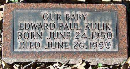 KULIK, EDWARD PAUL - Stark County, Ohio | EDWARD PAUL KULIK - Ohio Gravestone Photos