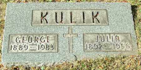 KULIK, GEORGE - Stark County, Ohio | GEORGE KULIK - Ohio Gravestone Photos