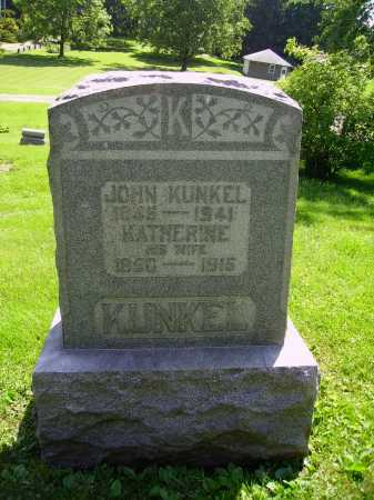 KUNKEL, JOHN - Stark County, Ohio | JOHN KUNKEL - Ohio Gravestone Photos