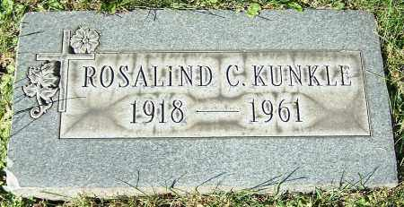 KUNKLE, ROSALIND C. - Stark County, Ohio | ROSALIND C. KUNKLE - Ohio Gravestone Photos