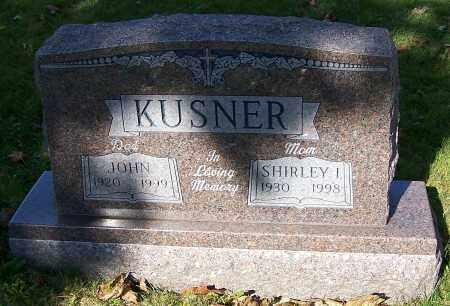 KUSNER, SHIRLEY I. - Stark County, Ohio | SHIRLEY I. KUSNER - Ohio Gravestone Photos