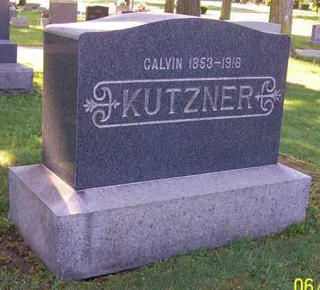 KUTZNER, CALVIN - Stark County, Ohio | CALVIN KUTZNER - Ohio Gravestone Photos