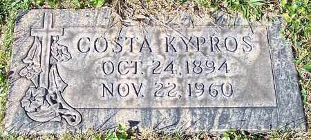 KYPROS, COSTA - Stark County, Ohio | COSTA KYPROS - Ohio Gravestone Photos